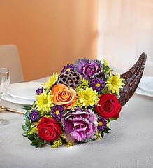 Fresh Flower Cornucopia™ from bloomnet