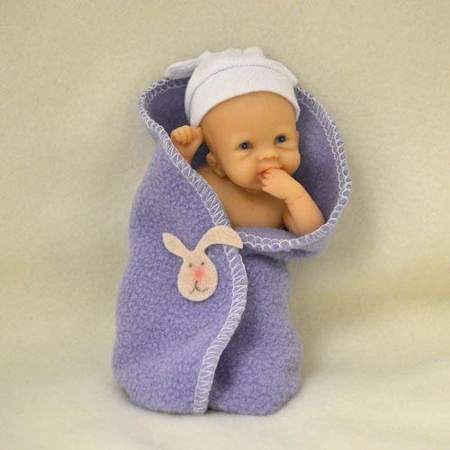 ec45167c3 Ashton Drake Bundle of Cuddles Lifelike Miniature Baby Doll 4   by Sherry  Rawn