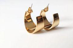 Curva Earrings - Gold