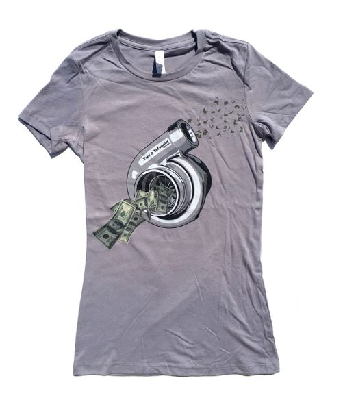 Blowin Money Tee- Women's