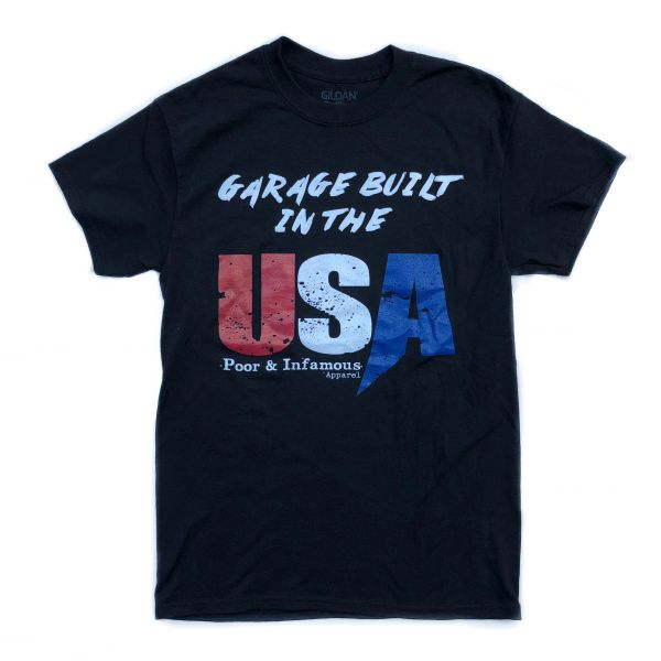 Garage Built in the USA Tee