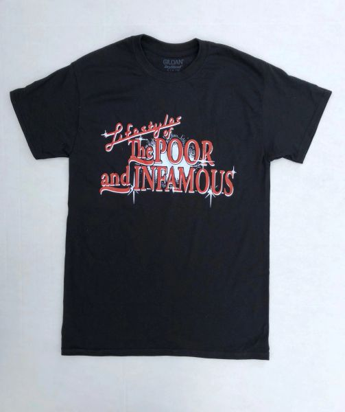 Lifestyles of the Poor and Infamous Tee- Red