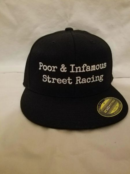 Poor & Infamous Street Racing Hats
