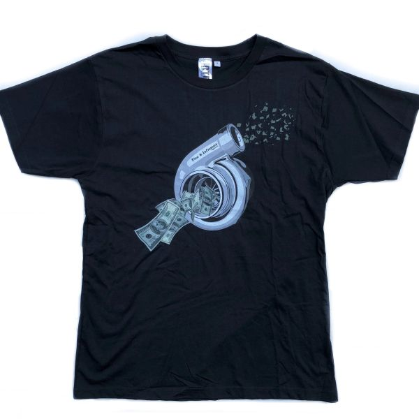 Blowin Money Tee - Black