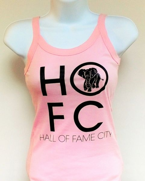 Women's Pink Hall Of Fame City Tank