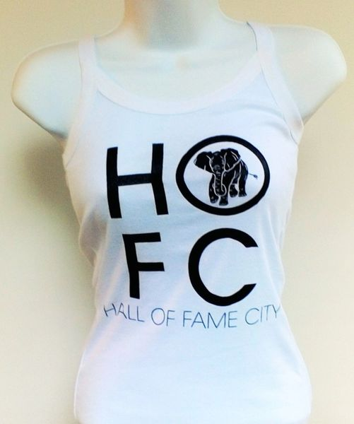Women's White Hall Of Fame City Tank