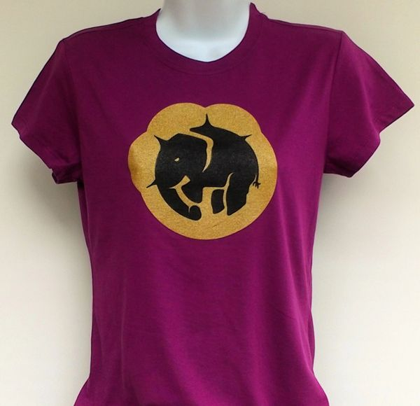Women's Current Paw Print Tee
