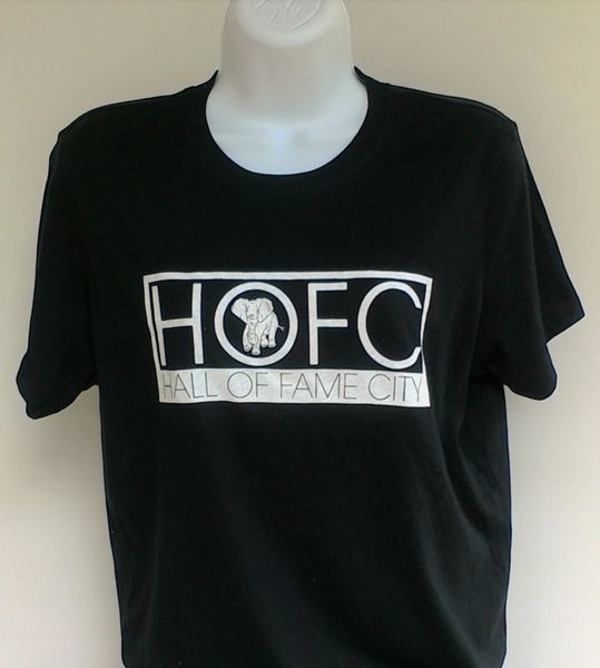 Women's Black Hall Of Fame City Tee