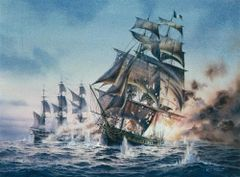 Famous Sea Fights by John R. Hale. 25 Historic Sea Battles. Audiobook in mp3 format usb drive