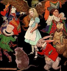 Alice In Wonderland and 50 other favorite Old Time Radio Show Classics on usb drive