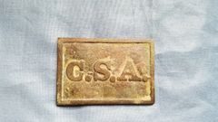 RECTANGULAR CSA BELT BUCKLE