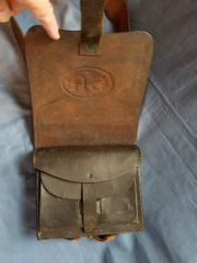 1864 US CARTRIDGE BOX AND SLING