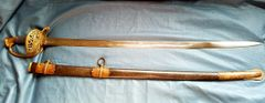 AMES 1850 STAFF AND FIELD OFFICERS SWORD