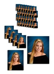 C Package - 2 Pose Deluxe - 1-11x14, 2-8x10, 4- 5x7, 32 - Wallets