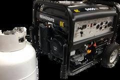 BE 9400 watt DUAL FUEL generator
