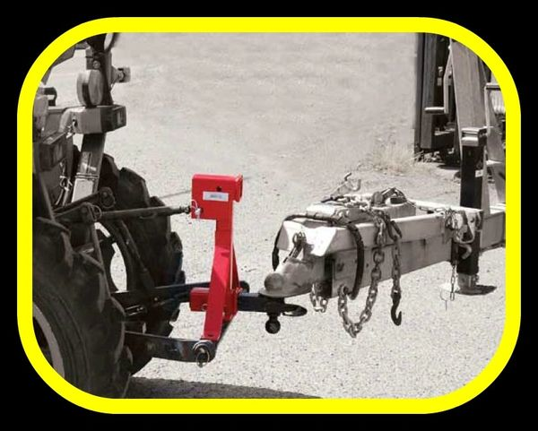3 Point Hitch Receiver Draw Bar Tractor Implements Ca