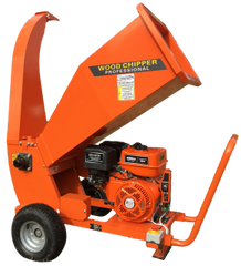 "4"" DUCAR wood chipper, gas powered 15hp engine with electric start & SHIPPING INCLUDED to freight terminal"