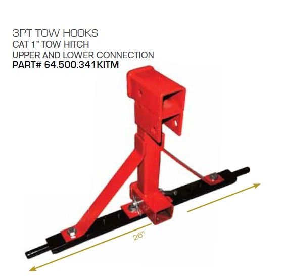 3-Point Quick Hitch Options for Compact Tractors