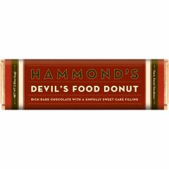 Hammond's Devil's Food Donut Dark Chocolate Bar - ADD TO CANDY BEAR BOUQUET