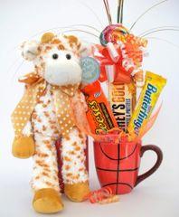 Basketball Candy Bear Bouquet Stretch Giraffe