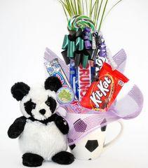 Soccer Candy Bear Bouquet Ping Pong Panda
