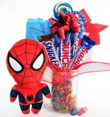 Spiderman Candy Bear Bouquet