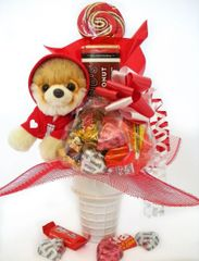 Candy Bear Bouquet Itty Bitty Boo Loves You