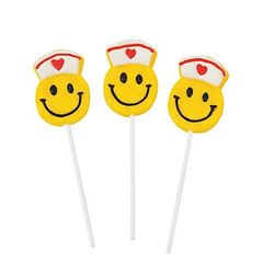 Nurse Smiley Lollipop - ADD TO CANDY BEAR BOUQUET