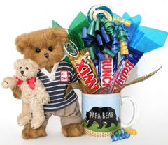 Father's Day Candy Bear Bouquet Beary Best Dad