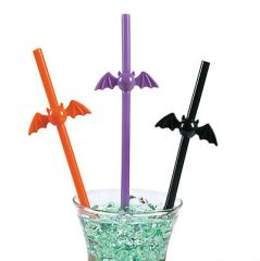 Bat Straw - ADD TO CANDY BEAR BOUQUET