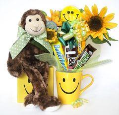 Smiley Candy Bear Bouquet Mo Smiles