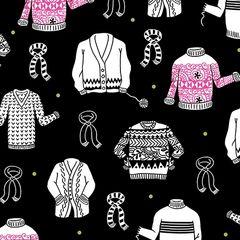 Wool Ewe Sweaters on Black by Ink & Arrow