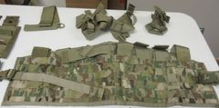 TAP vest ONLY in OCP Scorpion or Multicam (includes IOTV attachments)