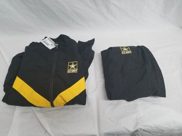 PT Winter jacket and pants (black and gold)