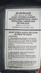 Level 6 Rain Jacket in OCP Scorpion - appears new without tags NWOT