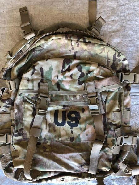 3 day assault pack in multicam and OCP Scorpion w2