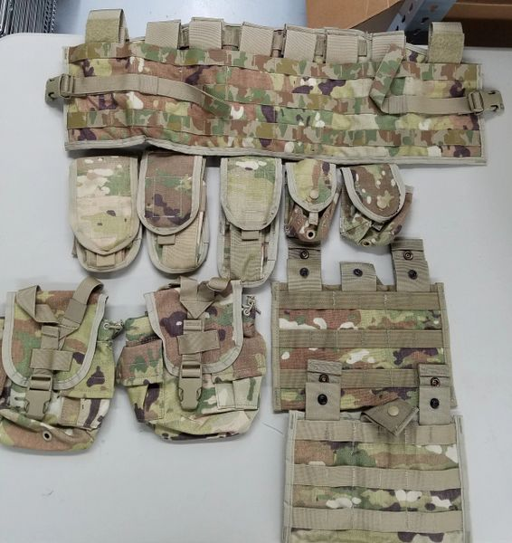 Scorpion OCP TAP Vest plus 9 pouches