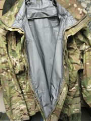 Level 6 Multicam Rain Jackets by Tennier Inc. -- Appears New without tags
