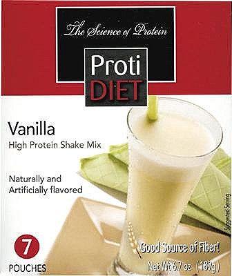 Protidiet Shake Vanilla 7 Box Exceling Nutrition
