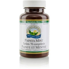 (485-6) PAPAYA MINT TABLETS (70)