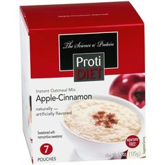 350615) ProtiDiet Oatmeal - Apple Cinnamon (7/Box) = ALTERNATIVE TO IDEAL PROTEIN --- UNRESTRICTED