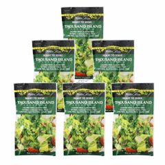 (123113) - (6 packets) Walden Farms - Dressing - Thousand Island - 1 oz