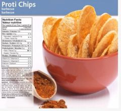 (0356V01) Proti BBQ Chips- - - 1 SERVING - - - Only 4 Net Carbs per bag!