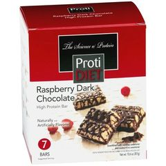(422770) ProtiDiet Raspberry Dark Chocolate Square = Alternative to Ideal Protein - - - Restricted