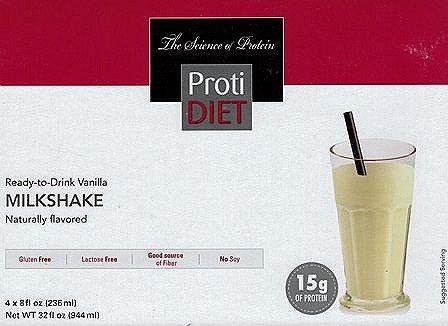 Ready To Drink Vanilla Shake 4 Box Alternative To Ideal P
