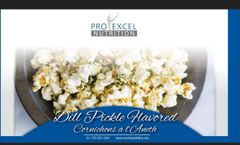 (615) ProExcel Protein POPCORN DILL PICKLE - Big Format - - UNRESTRICTED - EXPIRY