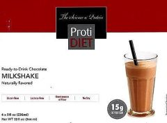 (005270) NEW!!! ProtiDiet Ready to Drink - Chocolate Milkshake (4/Box) = ALTERNATIVE TO IDEAL PROTEIN --- UNRESTRICTED