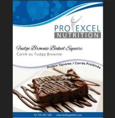 (301) ProExcel Fudge Brownie Baked Square - RESTRICTED