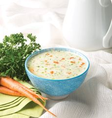 (021668) HIGH PROTEIN CREAMY CHICKEN WITH VEGETABLES 100 CALORIE MEAL REPLACEMENT SOUP - UNRESTRICTED