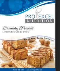(252) ProExcel Crunchy Peanut Bar - RESTRICTED - (7 Servings)